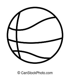 silhouette monochrome with basketball ball