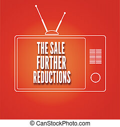 Silhouette of a TV, The sale Further reduction - Silhouette...