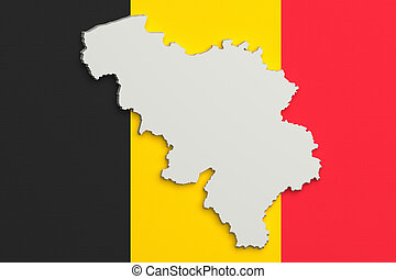 3d flag map of belgium 3d made flag map of belgium drawings