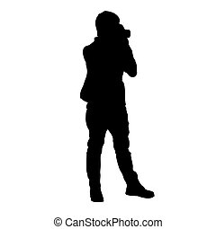 silhouette of guy