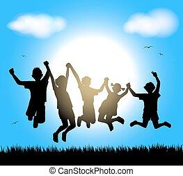 happy childrens