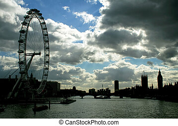 Silhouette of London