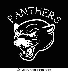 Panther Tattoo Mascot