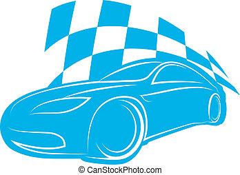 silhouette sports car