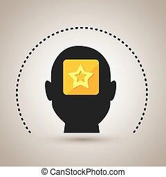 silhouette star app icon