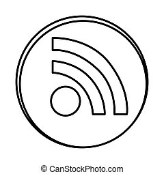 silhouette symbol wife icon