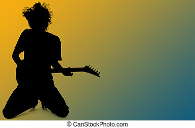 Silhouette Teen Boy