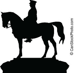 silhouette vector of the ataturk st