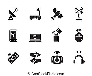 communication technology icons