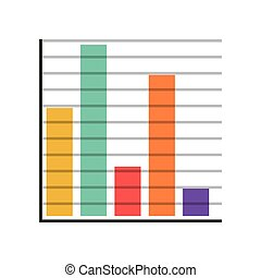 silhouette with color bar Statistics