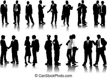 silhouettes, ämbete folk
