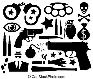 silhouettes, crimineel