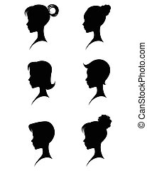 Silhouettes head girls