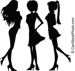 silhouettes ladies