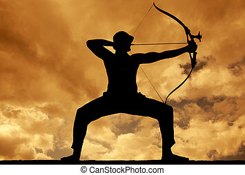Silhouettes of Archer