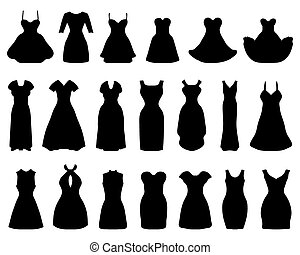 Clip Art Little Black Cocktail Dress