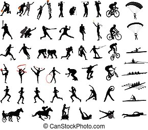 silhouettes, sport, kollektion