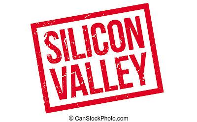 silicium, caoutchouc, vallée, timbre