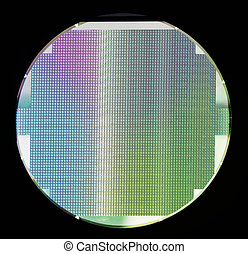 Silicon semiconductor wafer