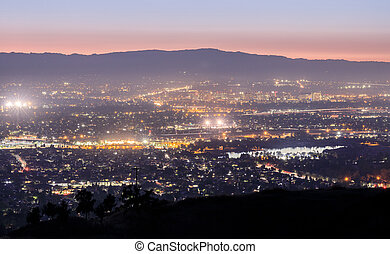 Silicon Valley Lights.