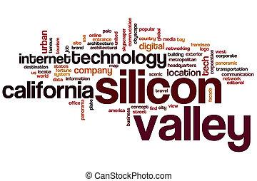 silicon valley, mot, nuage