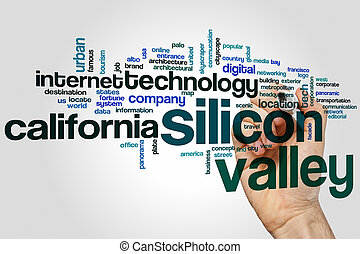 Silicon valley word cloud