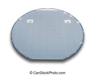 Silicon wafer,isolated