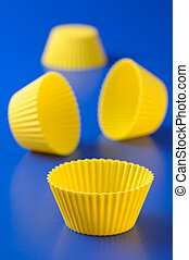 Silicone baking cup