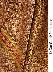 silk texture background, Thai style - silk fabric texture...