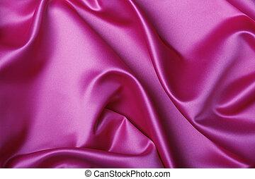 Silky background - Beautiful pink silk background