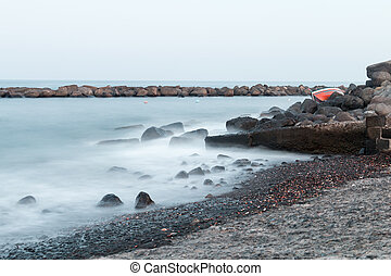 Silky Water in Torre Archirafi little village in east Sicily