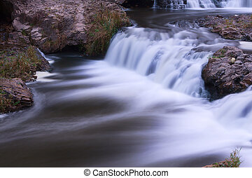 Scenic Waterfall with a silky water affect.