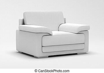 sillón cuero