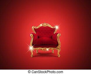 sillón, lujo
