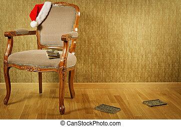 sillón, santa