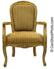 silla, acento