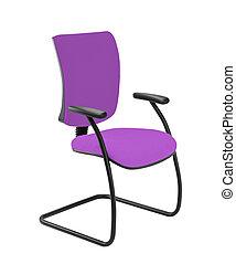 silla de la oficina, aislado