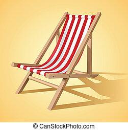 silla de la playa