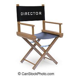 silla director, película