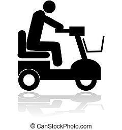 silla motorizada