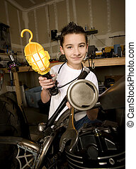 Silly Boy Mechanic