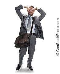silly businessman