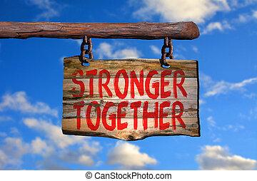 silniejszy, razem