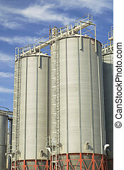 silos grão