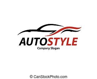 silueta, automóvel, abstratos, esportes, desenho, veículo, logotipo, car