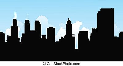 silueta, chicago