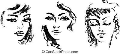 silueta, femininas