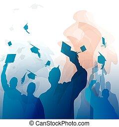 silueta, graduação