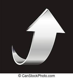 Silver arrow