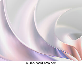 Silver Background - Abstract 3d silver background with soft...